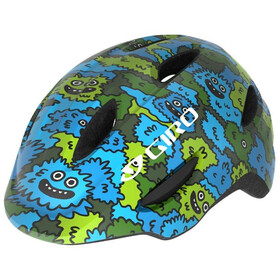 Giro Scamp Helmet Barn blue/green creature camo